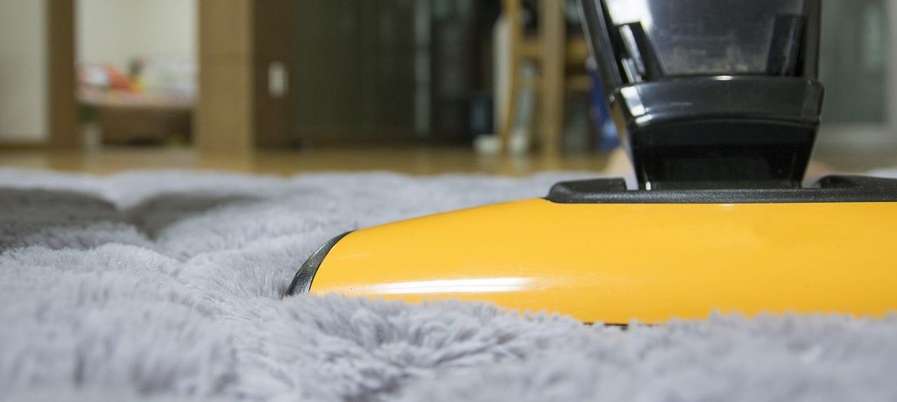 Carpet cleaner for nail polishes