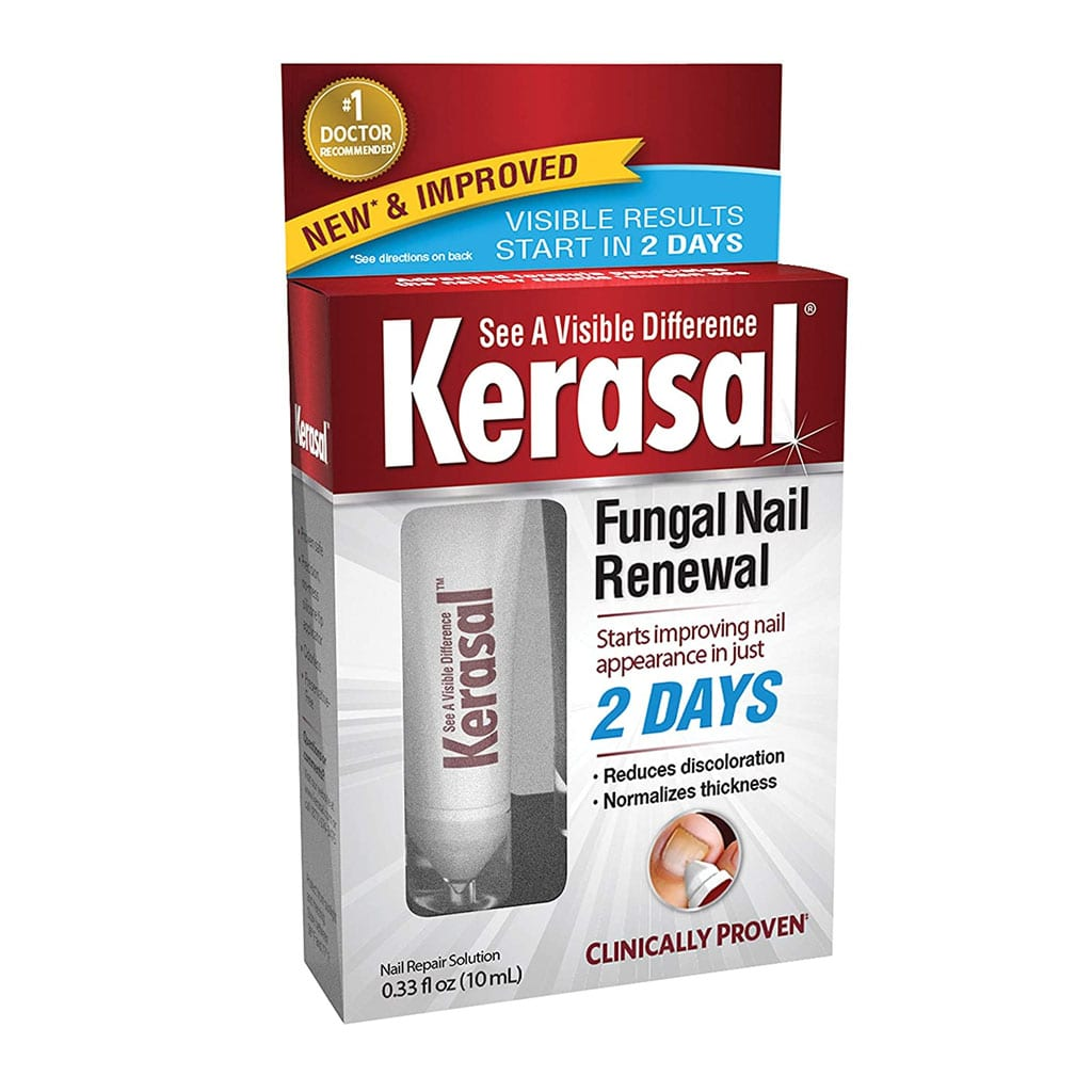 Kerasal Fungal Nail Renewal Treatment 10ml Restores the healthy appearance of nails discolored or damaged by nail fungus or psoriasis.