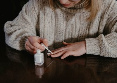 The secrets Behind Applying The Perfect White Nail Polish