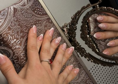 Dirty White Nail Polish? Here's how to keep it clean