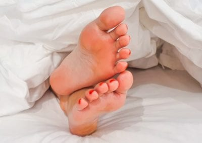 What Causes White Flaky Toenails? Here's Everything You Need To Know: