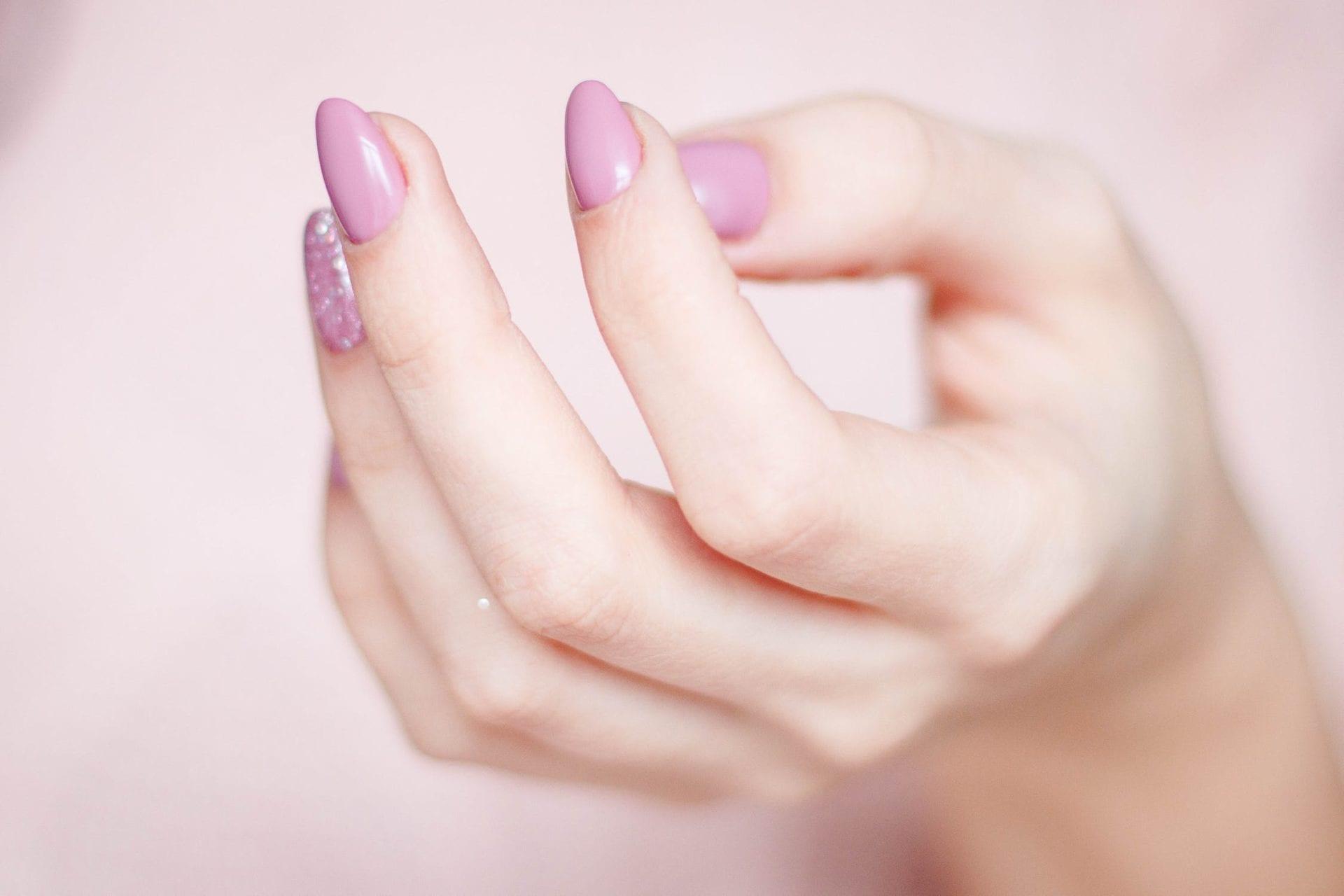 pale skin nail polish